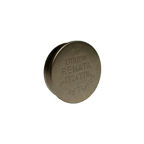 Renata CR2477N Lithium 3V Coin Cell Battery DL2477N BR2477N FAST USA SHIP - 950 Mah Lith Battery
