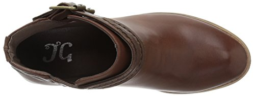 Brinley Co Women's Spiro Ankle Boot Brown FfoGfPGXmC