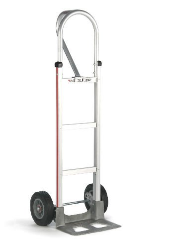 Magliner 52'' Tall Hand Truck Loop Handle 14'' Nose 10'' Semi-Pneumatic Tire (USA) by Magline Modular