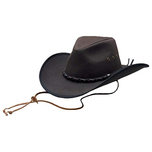 (Outback Trading Bootlegger Hat, Brown, L)