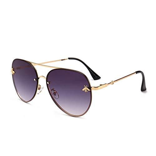 lunettes de l'abeille de personnalité Lunettes mode 60mm E 142 140 NIFG de polyvalentes soleil de soleil Cw1Sxfxq