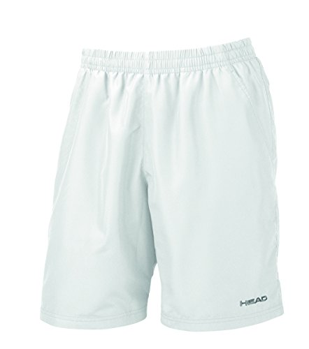 HEAD Men's Club Bermuda Shorts White (Bermuda Tennis Shorts)