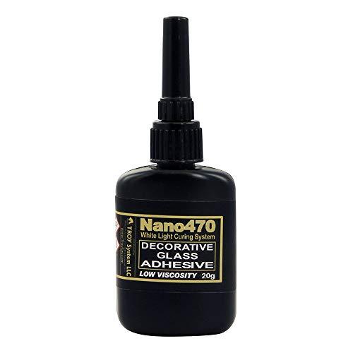 - TroySys DECOLW-20GR Nano470 Decorative Glass Glue, 20 G