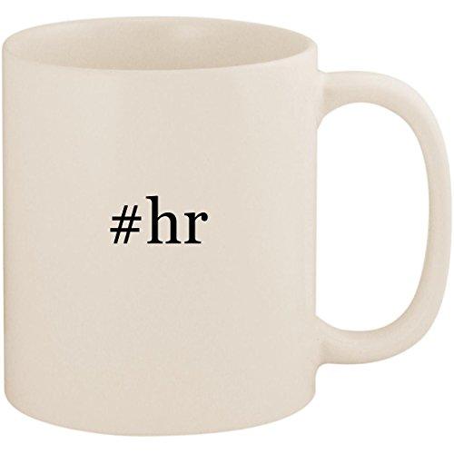 #hr - 11oz Ceramic Coffee Mug Cup, White