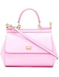Women's BB6003A10018H411 Pink Leather Handbag