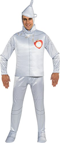 [Rubie's Costume Wizard Of Oz 75th Anniversary Edition Adult Tin Man, Silver, One Size Costume] (Wizard Of Oz Costumes)