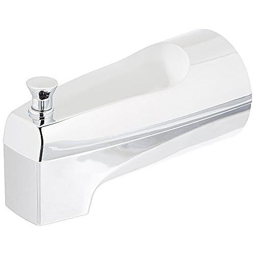 Moen 3931 Replacement Shower Tub Diverter Spout With Slip Fit Connection,  Chrome
