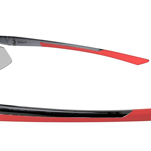 1e55ccc11eb Decathlon Kalanji RUNNING 600 ADULT RUNNING SUNGLASSES CATEGORY 3 (RED AND  GREY)  Amazon.co.uk  Sports   Outdoors