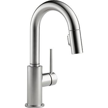 Delta Faucet Trinsic Single-Handle Bar-Prep Kitchen Sink
