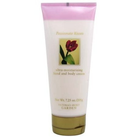 - Victoria's Secret Garden Passionate Kisses Ultra Moisturizing Hand and Body Cream 7.25 oz (205 g)