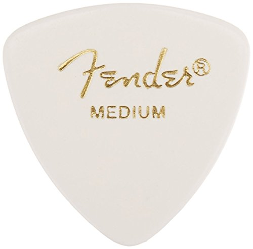 Fender 346 Shape Classic Celluloid Picks (12 Pack) for electric guitar, acoustic guitar, mandolin, and bass ()