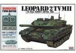 e Control Tank Leopard Ii No.9 [Germany] (Plastic Model) ()
