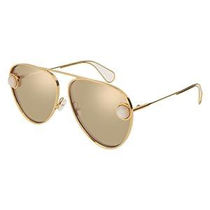 Sunglasses Christopher Kane CK 0015 S- 002 GOLD / WHITE