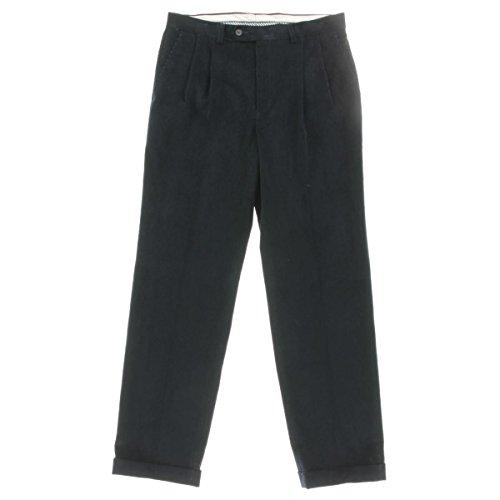 Navy Corduroy Trousers - 4