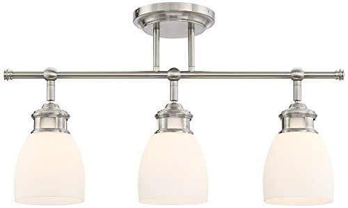 Pro Track Lighthouse Satin Nickel 3-Light Track Fixture by ProTrack