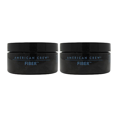 American Crew Fiber Pliable Molding Creme for Men, 3 Ounce Jars (Pack of 2) by AMERICAN CREW (Image #1)