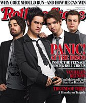 Rolling Stone Magazine Panic at the Disco February 8, 2007 Issue