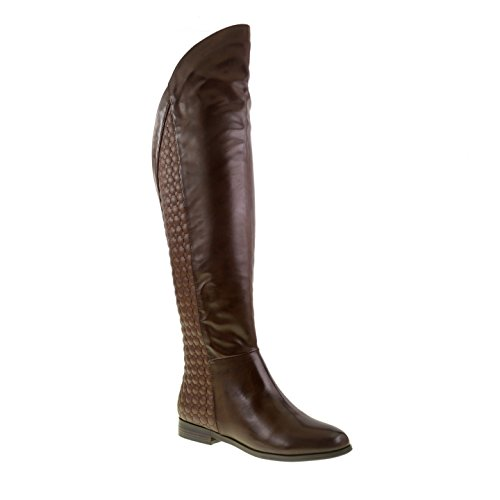 Racer Boot (Chinese Laundry Women's Racer Riding Boot, Coffee Burnished,  7.5 M US)