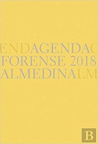 Amazon.com: Agenda Forense 2018 - Bolso (9789724071046 ...