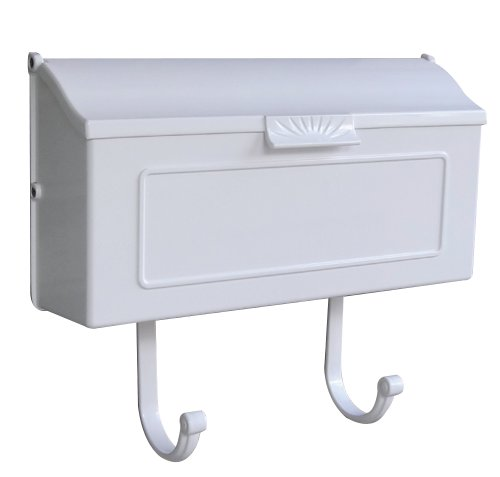Special Lite Products SHH-1006-WH Horizon Horizontal Mailbox, White