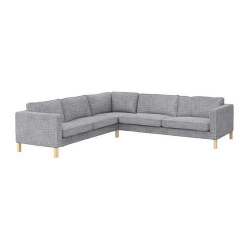 Amazon.com: IKEA KARLSTAD - Corner sofa 2+3/3+2 cover ...