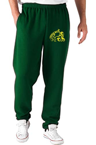 Pantaloni Speed Verde Reggae Shirt Boyz Jamaica Tuta Wc0424 HFwPF5