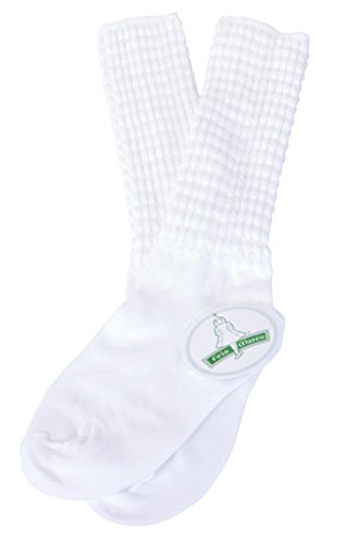 Irish Dance Championship Length Poodle Socks Regular (Medium)