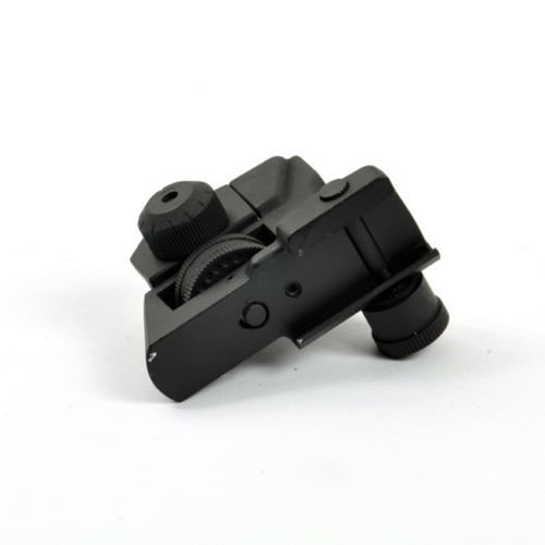 MUDCAT Outdoors Iron Sights Match Grade Model 4/15 Rear & High Profile Front Sight Gas Block, DPMS Oracle by GBO (Image #4)