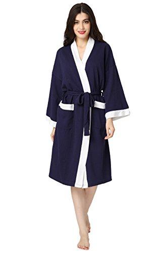 Aibrou Womens Waffle Bathrobe Nightgowns product image