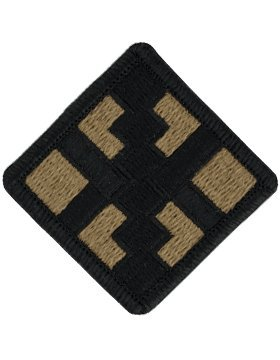 411th Engineer Brigade Scorpion OCP Patch with Fastener (Engineer Uniform)