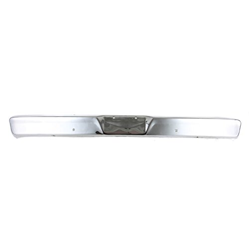 CarPartsDepot 64-77 Ford F150 F. Bumper Face Bar FO1002102 For C4TZ17757D wo Impact Strip Hole