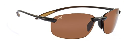 Serengeti Nuvola Polar Sunglasses,Shiny Brown with Drivers Lenses