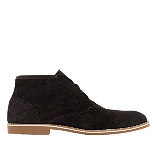 con Boots Redoute Collections La Pelle Nero Uomo in Lacci tqOYxxTA4w