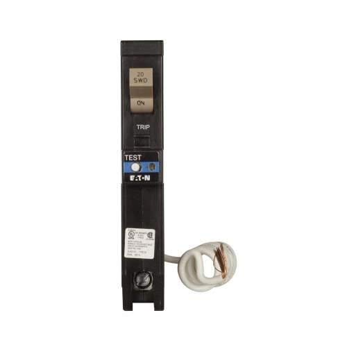 Eaton CHFAFGF120 Plug-On Mount Type CH Dual Purpose AFCI/GFCI Circuit Breaker 1-Pole 20 Amp 120 Volt AC from Eaton