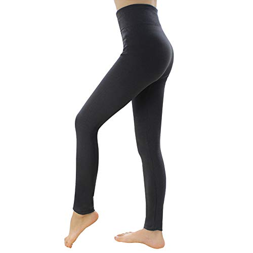 bb5d4ac634151 Cukeyouz Women's Winter Warm Fleece Lined Leggings Thick Velvet Tights  Thermal Pants