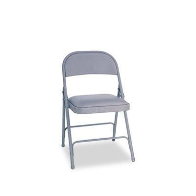 aleraamp; reg; - Silla plegable de acero w/asiento acolchado ...