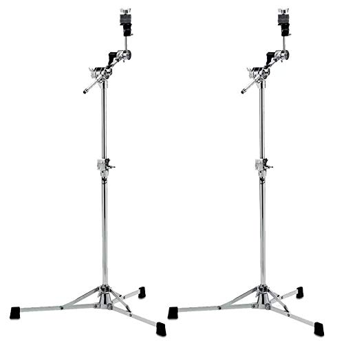 DW 6700 Flat Base Boom Cymbal Stand (2 Pack Bundle)