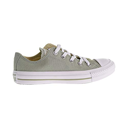 Sage Green Converse - Converse Women's Chuck Taylor All Star Perforated Canvas Low Top Sneaker, Surplus sage White, 9 M US