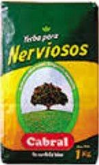 Cabral Yerba Mate para Nerviosos 1 Kilo Bag