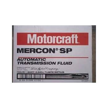 Ford Motorcraft Mercon Lv Automatic Transmission Fluid Sds
