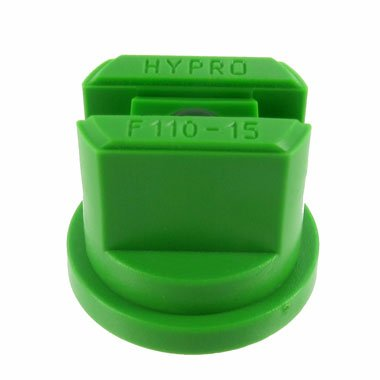 Package of 12 - Hypro Lurmark Flat Fan Spray Tip - 110 Degree - Light Green - 1.5 GPM (30-15f110lg)