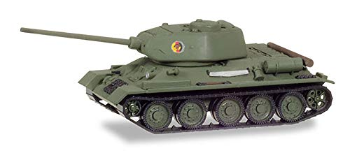 "- T-34/85 Main Battle Tank German Democratic Republic National People's Army ""Nationale Volksarmee"" (NVA) (Olive) Scale 1:87 (HO Scale) Model"
