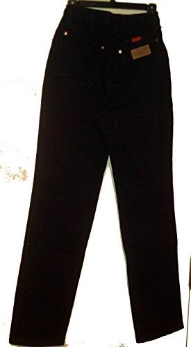 Wrangler Classic fit long rise riding jean black (5/6 34) (Long Jeans Wrangler)