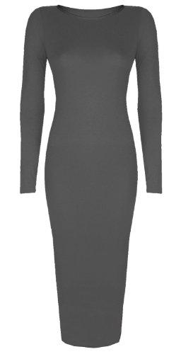 Baleza - Robe -  - Manches longues Femme -  Gris - Gris - Taille unique - Petite