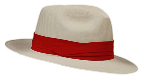 (Grosgrain Hat Band (Silk) (Red))