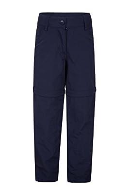 Mountain Warehouse Active Girls Convertible Pants -Kids Summer Trousers