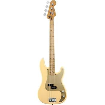 Fender '50s Precision Bass, Honey Blonde, Maple Fretboard