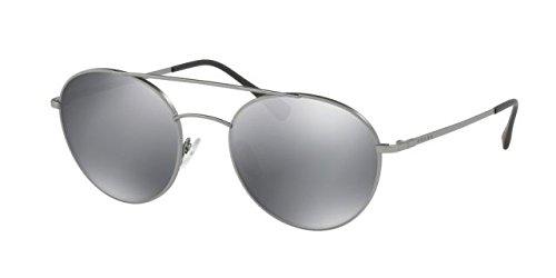 Prada Sport PS51SS 7CQ5L0 Matte Gunmetal PS51SS Round Sunglasses Lens Category ()
