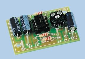 - Universal Mono Pre-Amplifier Kit (requires soldering assembly)