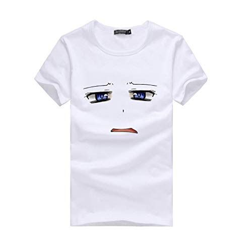 Women Plus Size T-Shirt Emoji Short-Sleeved Top Cute -